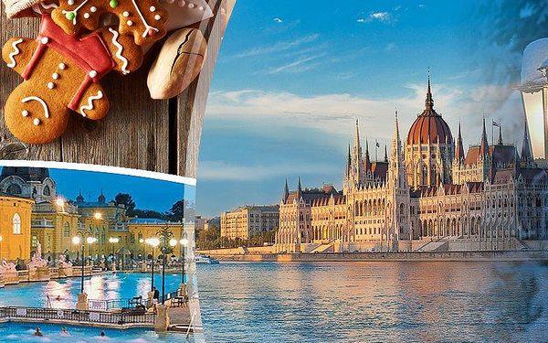 Adventní Budapešť a termální lázně na 3 dny s dopravou a ubytováním v centru města i s průvodcem!