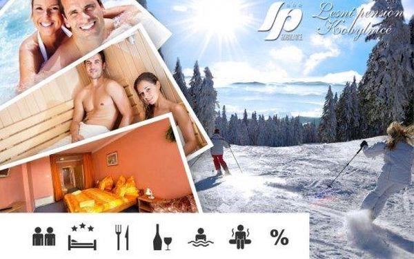 Zimní relaxační pobyt pro dva na Lipně