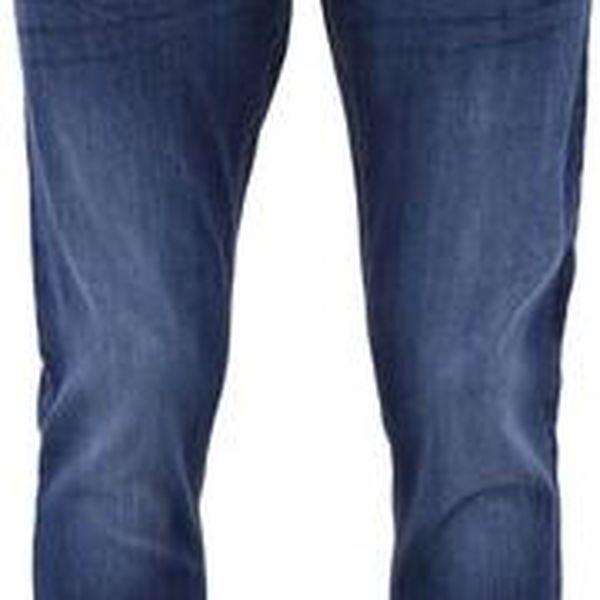 Tmavě modré džíny s ošoupaným efektem Shine Original Queens