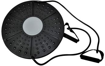 Balanční deska AXERFIT s posilovací gumou