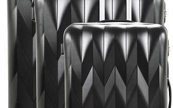 Sada 3 zavazadel Heathrow Black