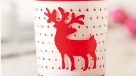 Skleněný vánoční svícen Ymir!