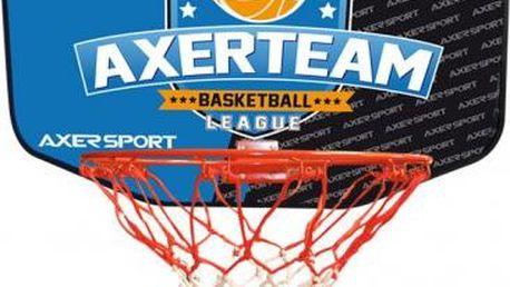 Basketbalová deska AXERFIT 60 x 44 cm s košem a síťkou