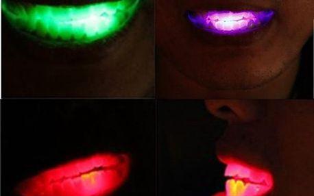 Plastové LED zuby