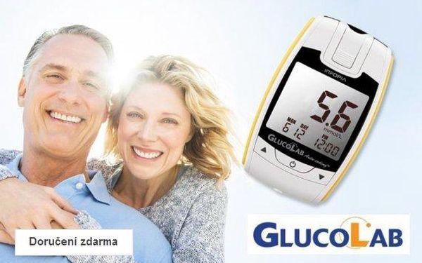 Glukometr + 25 testovacích proužků