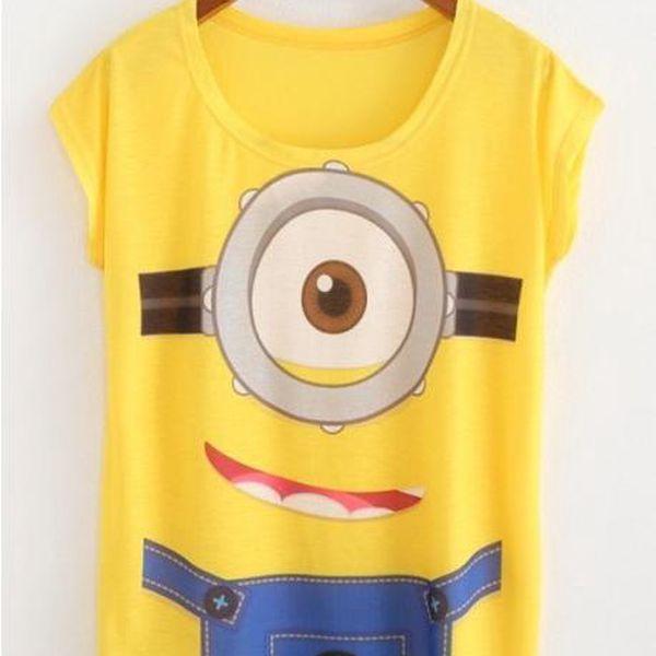 Dámské tričko Mimoň!