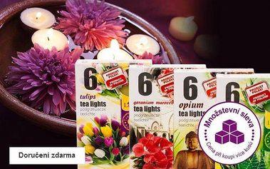 Čajové aromatické svíčky