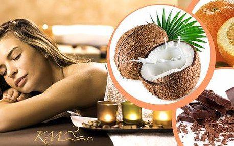 Vánoční čokoládová, kokosová nebo pomerančová masáž svůní hřebíčku vdélce 60 minut v Praze. Při příjemné aromatické masáži si skvěle odpočinete, zbavíte se bolestí a zapomenete na všechny stresy! Přijďte si vychutnat masáž za svitu svíček a příjemné rel