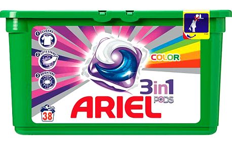 Ariel Active gel Color & Style 38 ks
