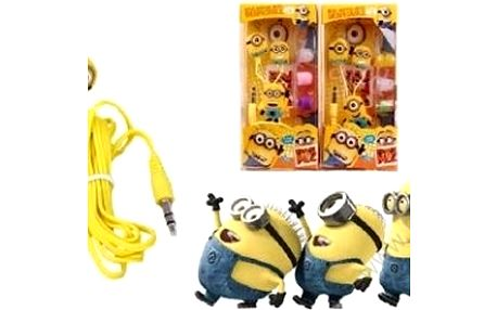Zábavná sluchátka s Mimoněm s oblíbenými filmovými postavičkami. Ideální dárek pro děti i dospělé.