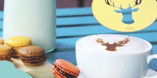 Dekorativní vzorníky na kávu Hip Coffee