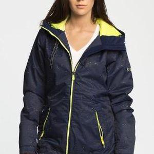Roxy - Snowboardová bunda Valley Hoodie - tmavomodrá, M