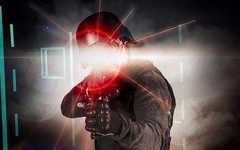 Pořádně napínavá střílečka v laser areně Matrixx