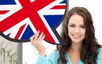3 lekce individuální anglické konverzace