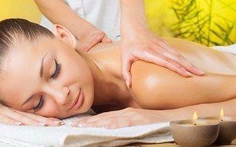 3 hodiny luxusních relaxačních masáží