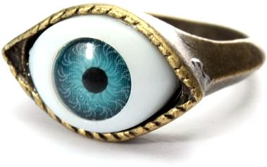 Vintage prsten - hypnotizující oko
