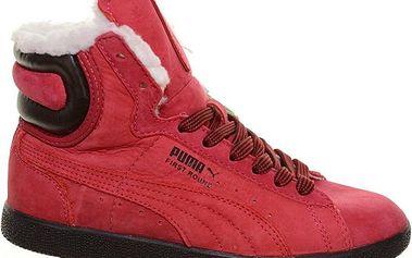 Dámská zimní obuv Puma First Round Worker 350880-04 červená