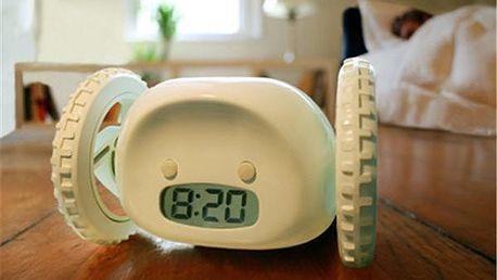 Clocky - utíkající budík vás zaručeně z postele dostane včas!