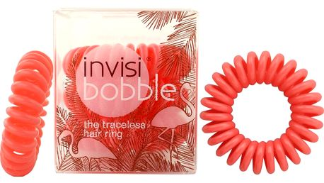 Invisibobble gumička do vlasů Fancy Flamingo lososová 3 ks