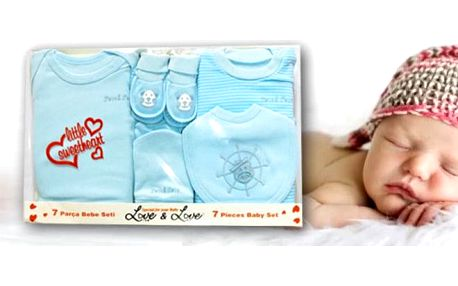 Sety pro miminka 7 nebo 5 dílné