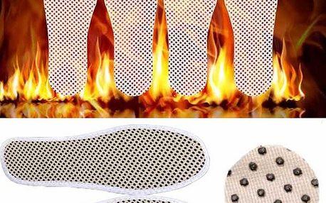 Turmalínové zahřívací vložky do bot