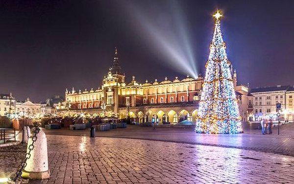 Adventní trhy a památky UNESCO v Krakově
