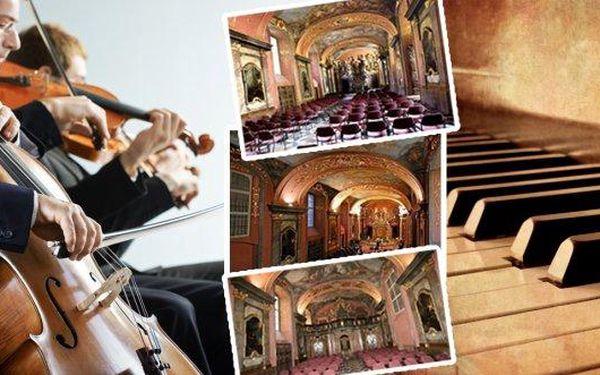 Koncert s varhanami a sólovým zpěvem v Zrcadlové kapli Klementina! Mozart, Bach, Dvořák a mnoho dalších mistrů klasické hudby v podání Dvořák Symphony Orchestra v komorním obsazení. Na výběr mnoho termínů do konce roku, včetně vánoční verze programu!