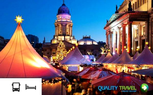 Berlín – adventní zájezd s ubytováním