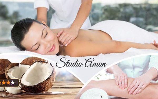 60min. masáž v ostravském Studiu Amon! Na výběr kokosová, klasická relaxační a anticelulitidní!