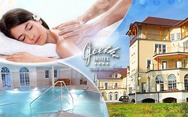 Mariánské Lázně - wellness pobyt na 3 nebo 4 dny pro dva v luxusním hotelu s polopenzí a procedurami!