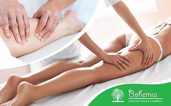 80minutová manuální lymfatická masáž pro detoxikaci organismu.
