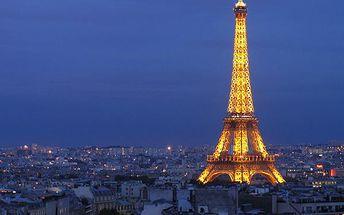 1998 Kč za 4-denní zájezd do Paříže 14. - 17.11.2015 po 50% slevě!!
