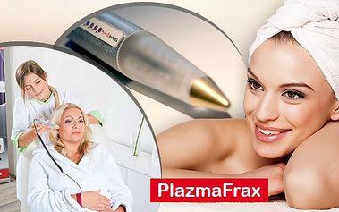 Omlazení plazmou! 120min. ošetření italským přístrojem PlalzmaFrax používaným k redukci vrásek, akné i jizev.