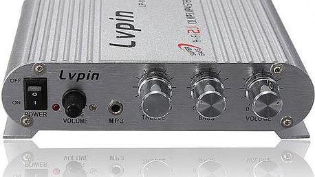 Mini Hi-Fi stereo zesilovač 200 W