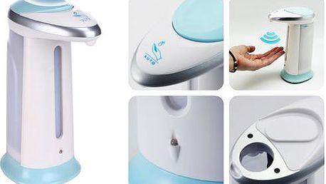 Bezdotykový dávkovač na mýdlo se zvukovým efektem