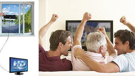 Ultratenká HD TV anténa