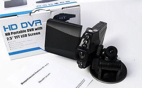 HD Portable - mini kamera do auta s nočním viděním