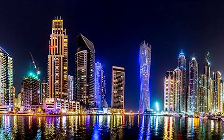 4-denní letecký novoroční zájezd do Dubaje