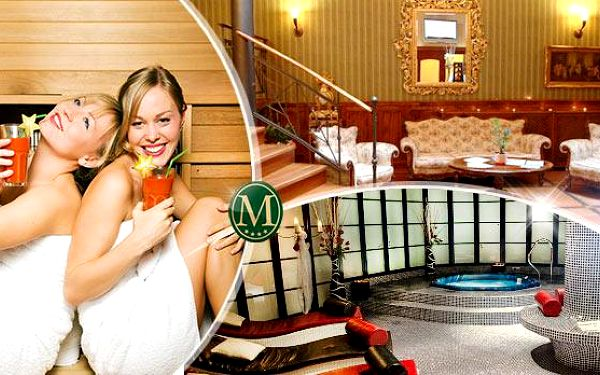 Hotel Morris**** Česká Lípa na 3 dny pro 2 dámy s polopenzí a wellness! Sauna, fitness, koupel, zábal a další!