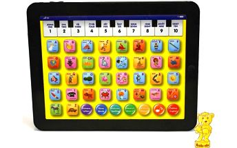 Mac Toys Baby Tablet bílý