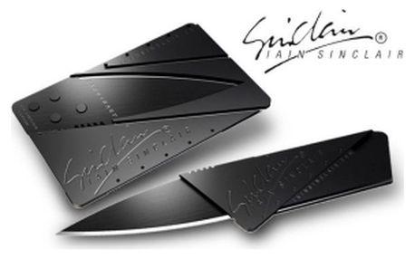 Skládací nůž v kreditní kartě