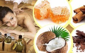 Relaxační jemné masáže vhodné pro muže i ženy všech věkových kategorií ve studiu Zdraví a krásy v Plzni!! Na výběr čokoládová, medová, skořicová nebo kokosová!! Hodina hýčkání zad a nohou se zábalem nebo peelingem!!