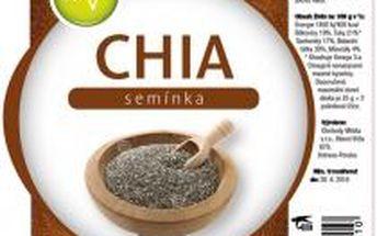 AWA superfoods Chia semínka 1000g 3 ks + dárek