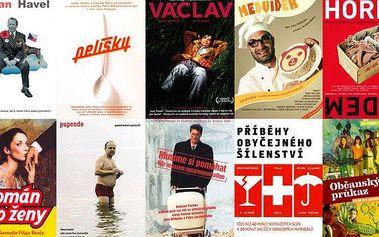 DVD kolekce 15 nebo 25 českých filmů