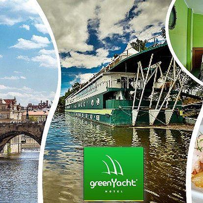 Pobyt pro dva v romantické kajutě hotelu Green Yacht. Luxusní prostředí a vynikající kuchyně!!