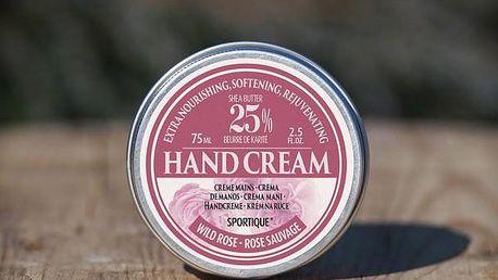 Krém na ruce a nehty s bambuckým máslem Sportique Wellness 75 ml!