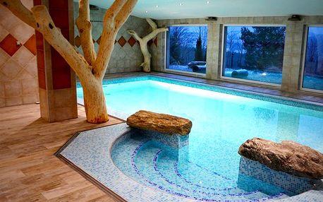 Zimní relaxace na Vysočině pro DVA na 3 dny s polopenzí a bazénem