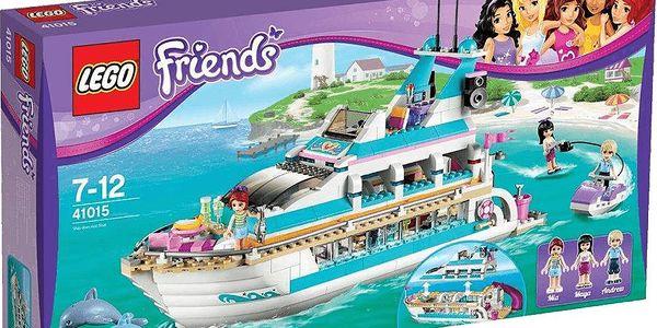 Hračka roku: LEGO FRIENDS Výletní loď za delfíny