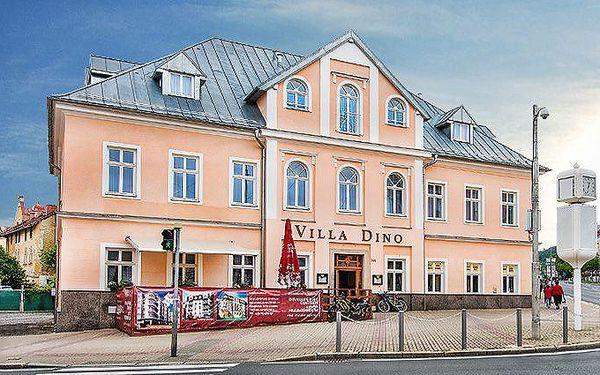 3 až 6denní wellness pobyt pro 2 s polopenzí v hotelu Villa Dino v Mariánských Lázních