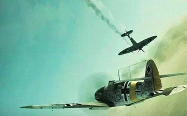 Pilotem za 2. světové války na leteckém bojovém simulátoru